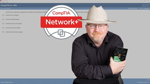 e CompTIA Network+ Cert. (N10-006) course by mike meyers