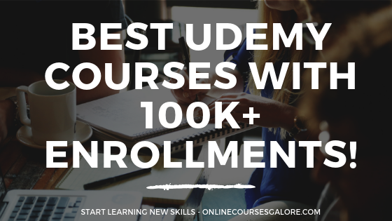 Online courses with 100k+ students