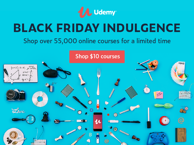 Udemy black friday sale 2017