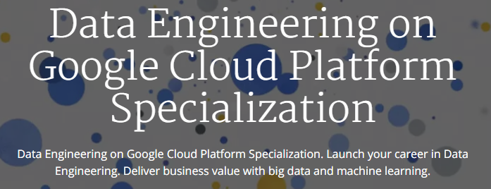 Data Engineering google cloud