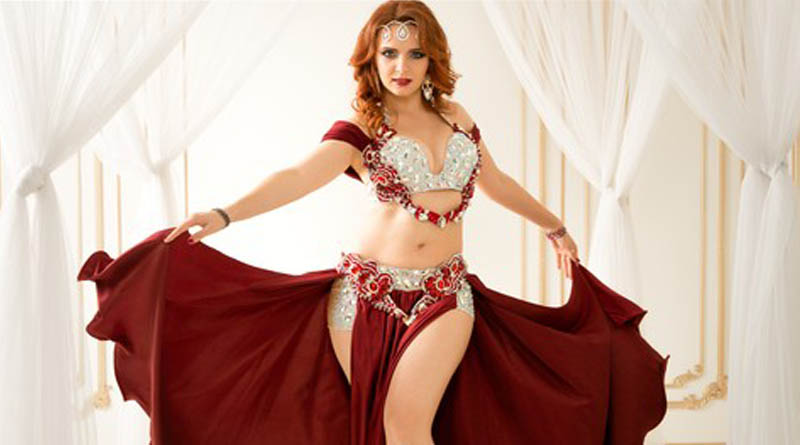 Want to learn belly dancing? Learn with Iana Komarnytska