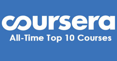 All time top ten coursera courses
