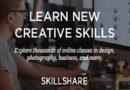 Skillshare premium free For 2 Months