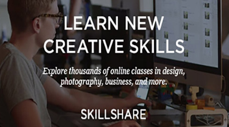 Get first month of Skillshare premium for free