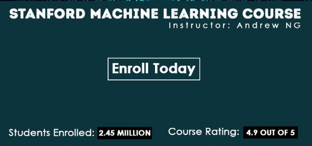 Machine Learning Course By Stanford University on Coursera